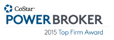 CoStar Power Broker Top Firm 2015
